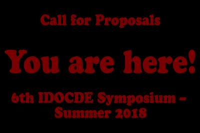 Call for Proposals - You are here 2018